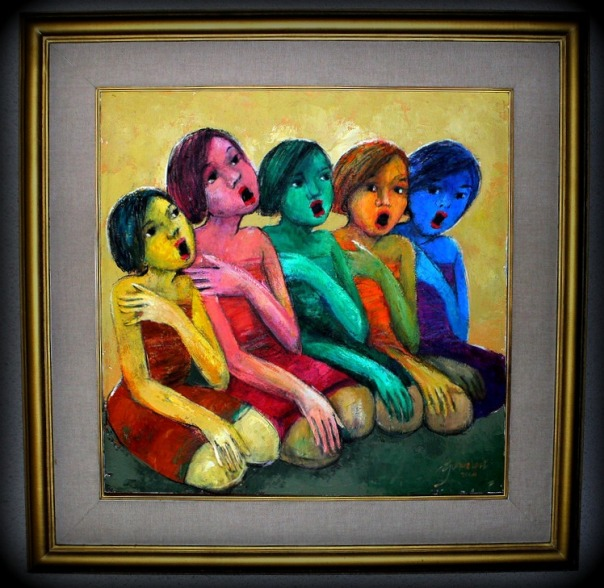 "'Paduan Suara"" by Gunawan Bagea"