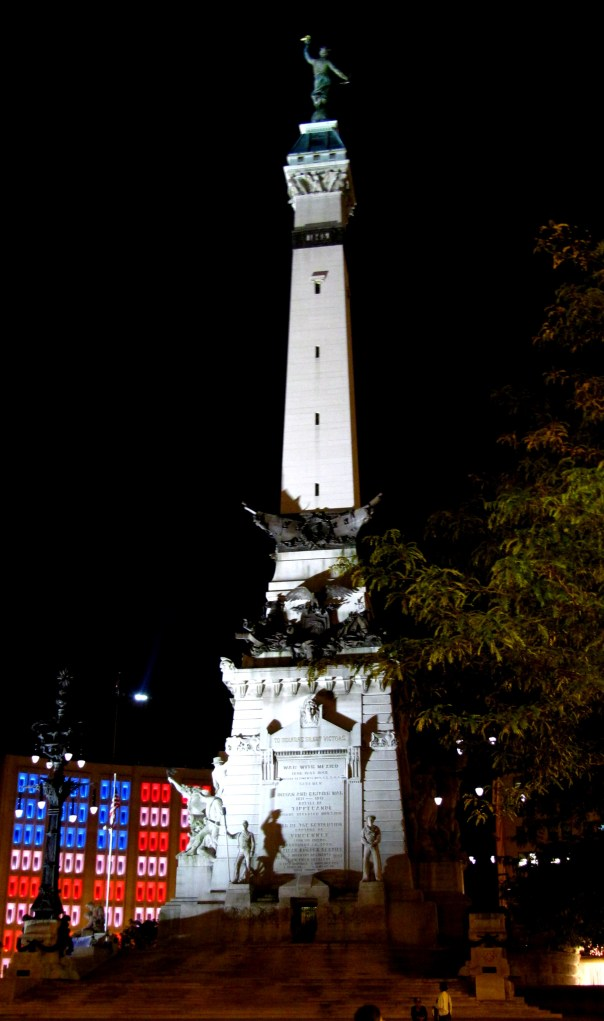 Soldiers' and  Sailor's Monument