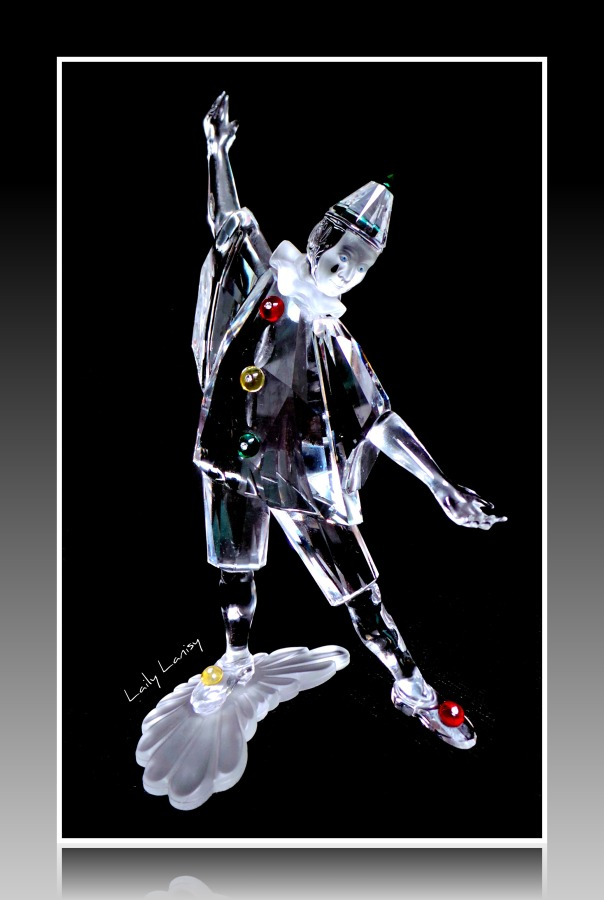 Swarovski clown 1